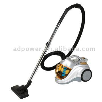 Bagless Cyclonic Canister Vacuum Cleaners