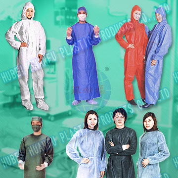 Non-woven Surgical Gown, isolation gown, Protective gown
