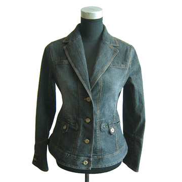 Stretch Denim Jackets