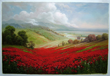 oil painting-landscape