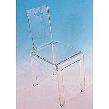 Plexiglass or Acrylic Chair