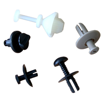 Male-Female Clipping Fasteners