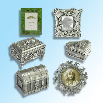 Candle Holder, Jewelry Box, Coin Box
