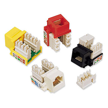 RJ45 Cat5e Keystone Jacks