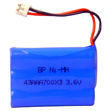Ni-MH Battery Pack for Cordless Phone
