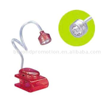 LED Light with Clip