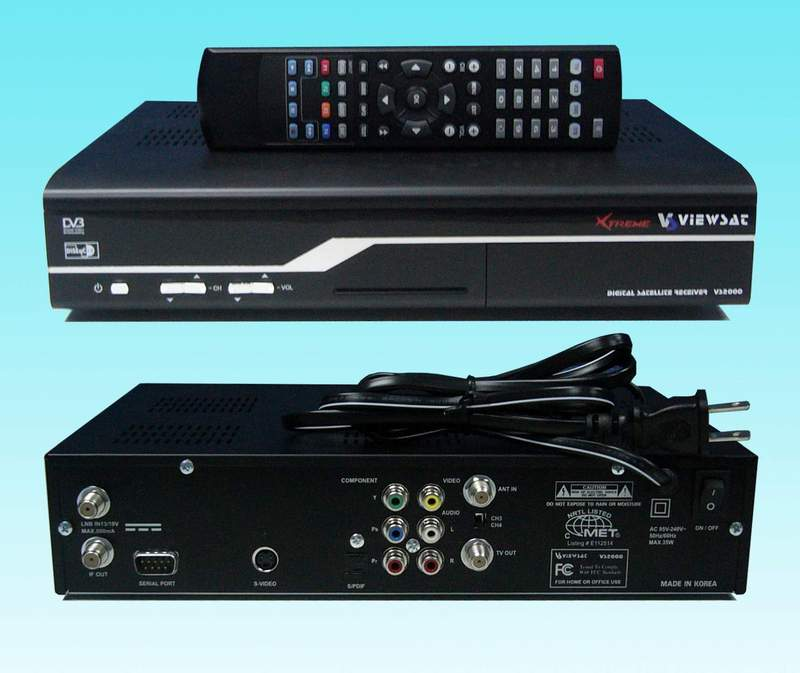 DVB-S / Satellite TV receiver / Model BI-2008