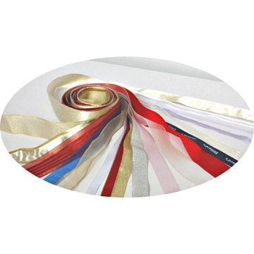 100% Polyester Single Face and Double Face Satin Ribbon