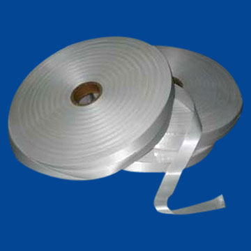 Woven-Edge Polyester Satin Label Tape