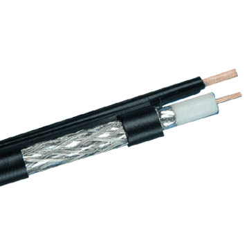 RG Coaxial Drop Cable with Messenger