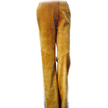 Pig Leather Trousers