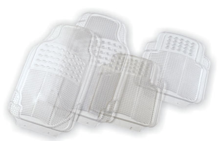 transparent pvc car mat