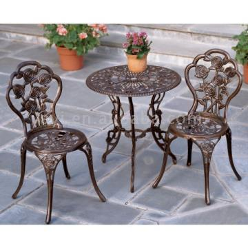Cast Aluminum Bistro Sets