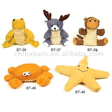 Sisal and Ramie Bath Toys