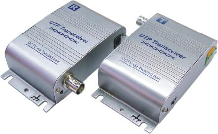 Twisted pair video transceiver