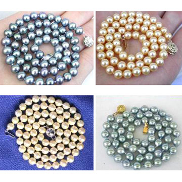 Sea Water Pearl Necklaces