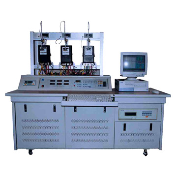 Programmable Test Bench for Three-Phase Watt-Hour Meters