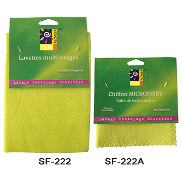 Synthetic Fiber Wipes