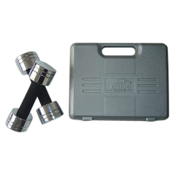 Adjustable Chrome Dumbbell Set (5kg)
