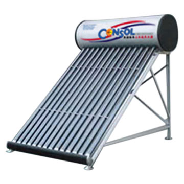Super Conducting Tube Direct-Plug Solar Water Heaters