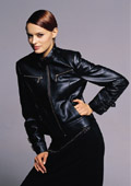 sheep leather coat