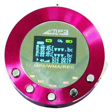 MP3 Player with OLED Display and FM Radios