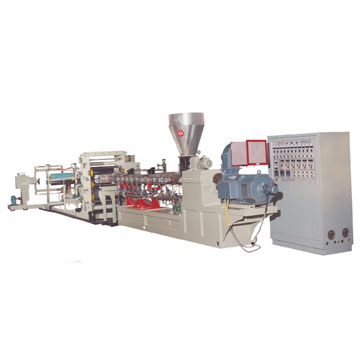 Twin-Screw Sheet Extruder