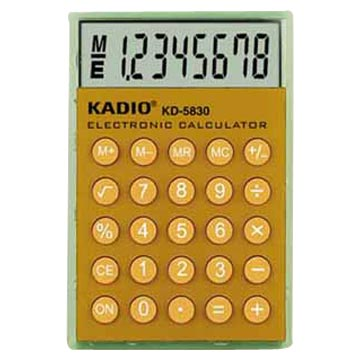 8 Digits Pocket Calculator