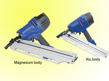 Air framing nailer / pneumatic framing guns
