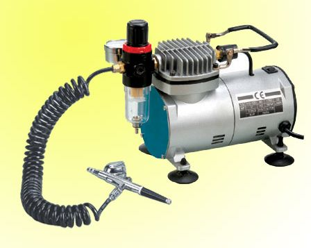 Air Brush & Mini compressor kit