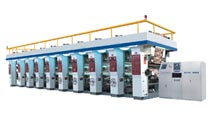 gravure press printing machine