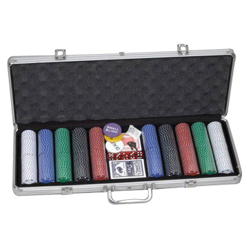 500pcs Poker Chip Sets