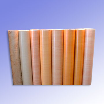 Wooden Grain PVC Film
