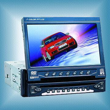 Car DVD Player With LCD Display + TV