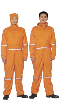 Multifunctional Flame Resistant Coverall