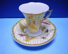 70cc Ceramic Coffee Cup and Saucer