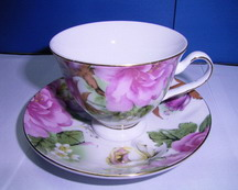 12 PCS 200cc ceramic tea cup and saucer/200cc ceramic tea cup and saucer