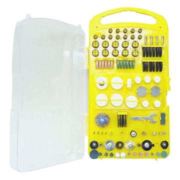 160 Piece Rotary Tools Accessory Set In Plastic Boxes