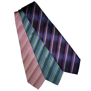 Yarn-Dyed Silk Neckties