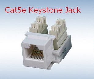 Unshield cat5e Keystone Jack