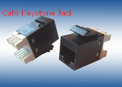 Unshield cat6 Keystone Jack