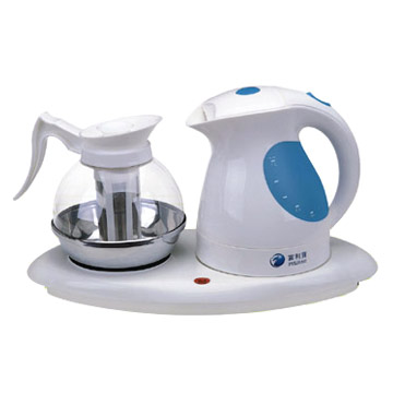 Electric Kettle and Tea Pots
