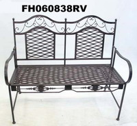 Iron Double Chair