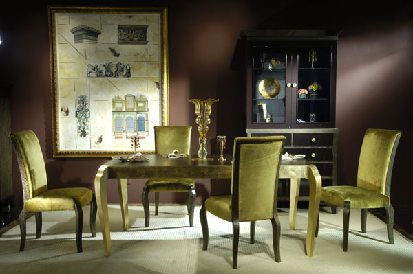 High-end designer furniture: dining room sets, dining tables &dining chairs, Shanghai JL&C Furniture