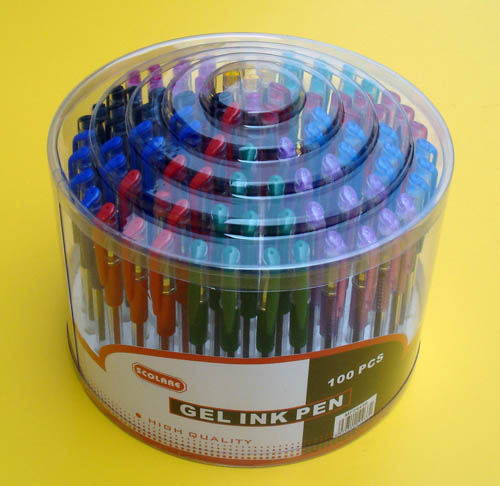 Gel Ink Pen Set with Display Box(009-100YT)