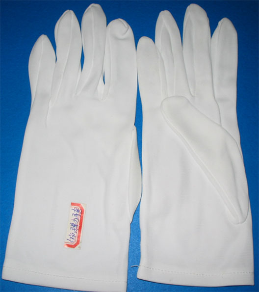 Full White Cotton Glove