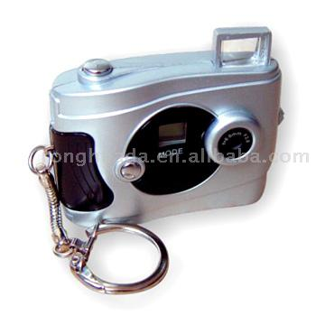 Digital Cameras with Key Chain