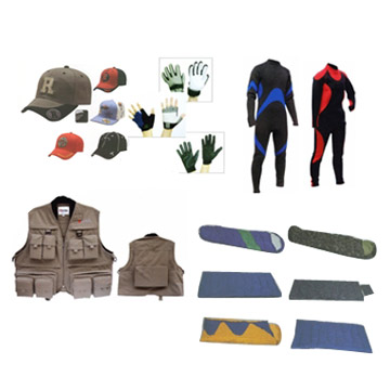 Fishing And Sports Clothes, Sleeping Bags