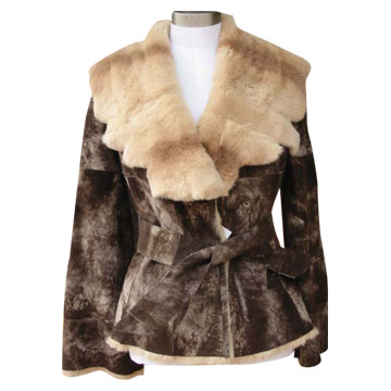 Rabbit Skin Ladies' Coats