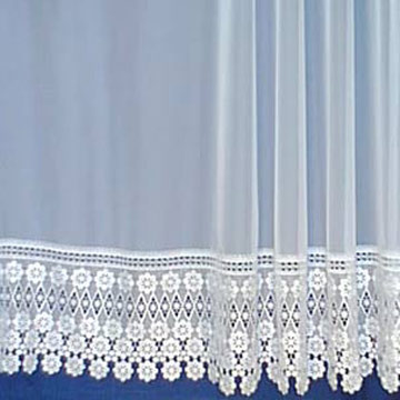 Embroidery Curtain Voiles